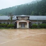 The sound of rain on the BGM, and relax in the closed schools renovation cafe Sasayama Hyogo