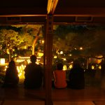 """Blankly the light of the lamp – Light-up event of Myoshin-ji Temple, Torin-in """"Event to enjoy the light of the candle"""""""