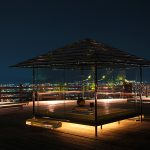 "Kyoto light up of the generals several ""Seiryu-den"" that city the views of the start – tea house of glass is fantastic"