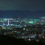 Anyway Kyoto nightscape Shogun mound