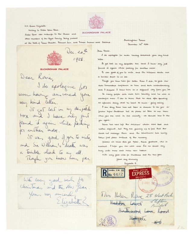 BRITISH ROYAL FAMILY  a collection of ten items, 19-19  The
