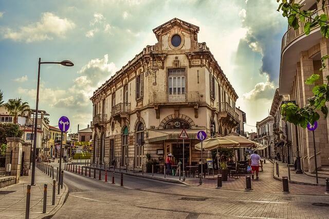 Город на Кипре
