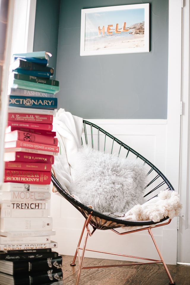 Acapulco Chair  Reading Nook