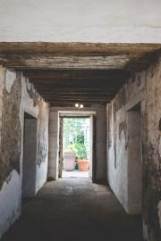 Corridor at Casa de la Guerra