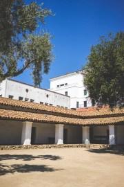 Courtyard at Casa de la Guerra
