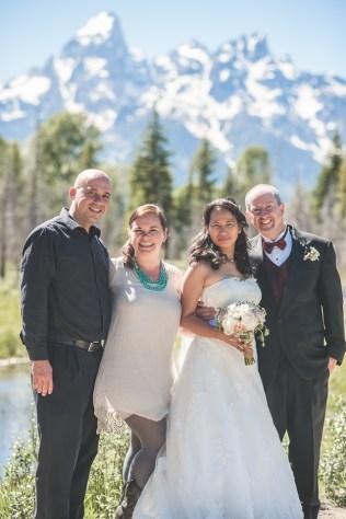 Bramblett Wedding with friends