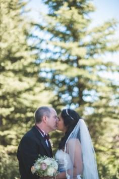 Bramblett Wedding color kiss