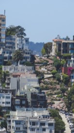 Lombard Street seen from Coit Tower