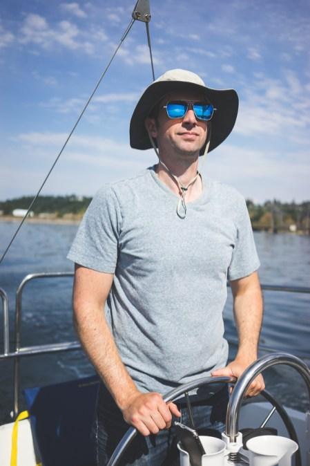 Sailing Puget Sound 28