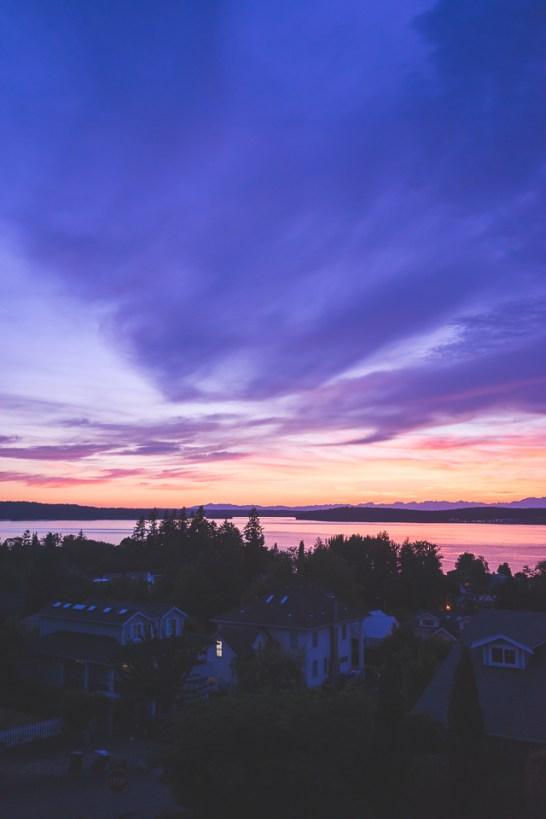 Steilacoom at sunset