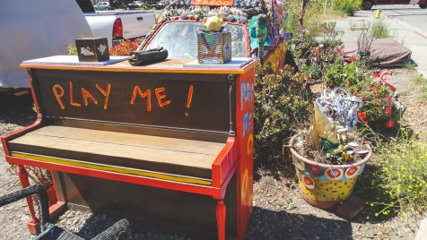 When in Sausalito, play the nearest piano