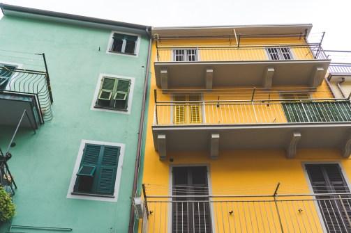 Cinque Terre houses