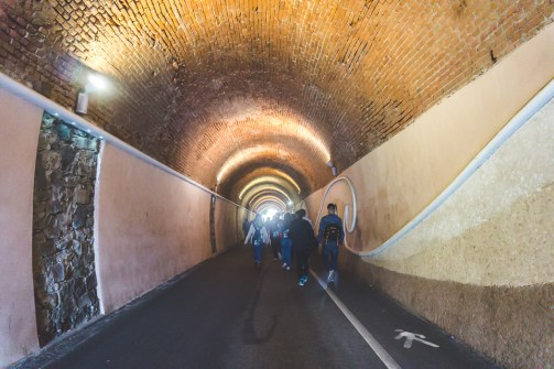 Monterosso tunnel