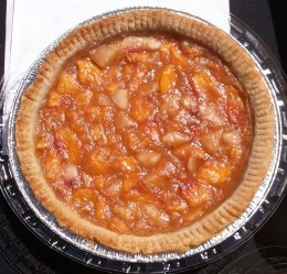 The Orchard Gluten-free, Vegan Fruit Pie! The one fore the judges had edible leaves on top.