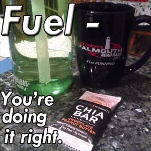 Fuel meme with chia bar