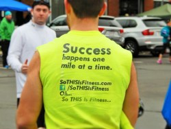 Success happens one mile at a time