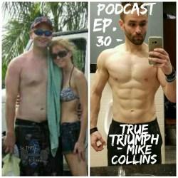 True Triumph Mike Collins