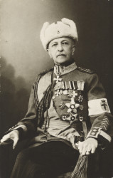 Sotatoimet: Kenraalimajuri Paul von Gerich.