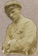 Aaro Pajari, kuva vuodelta 1918.