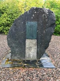 Sota 1918 – Lusin taistelun muistomerkki.