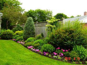 садовый дизайн маленького участка 2