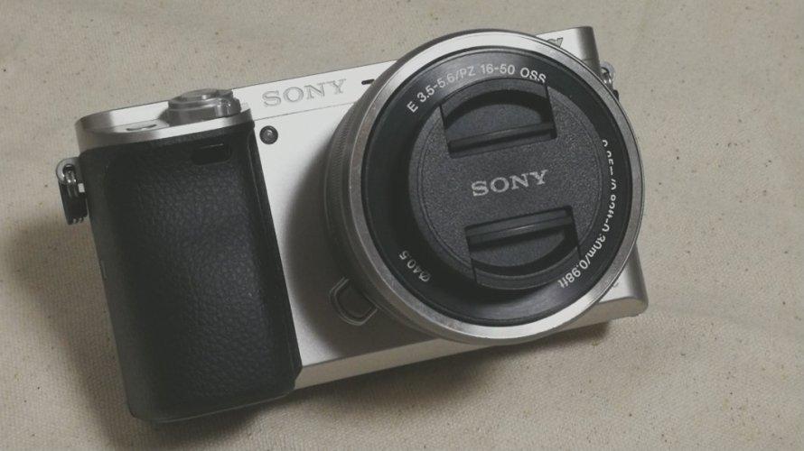 【カメラ|sonyミラーレス α6000】登山の記録に