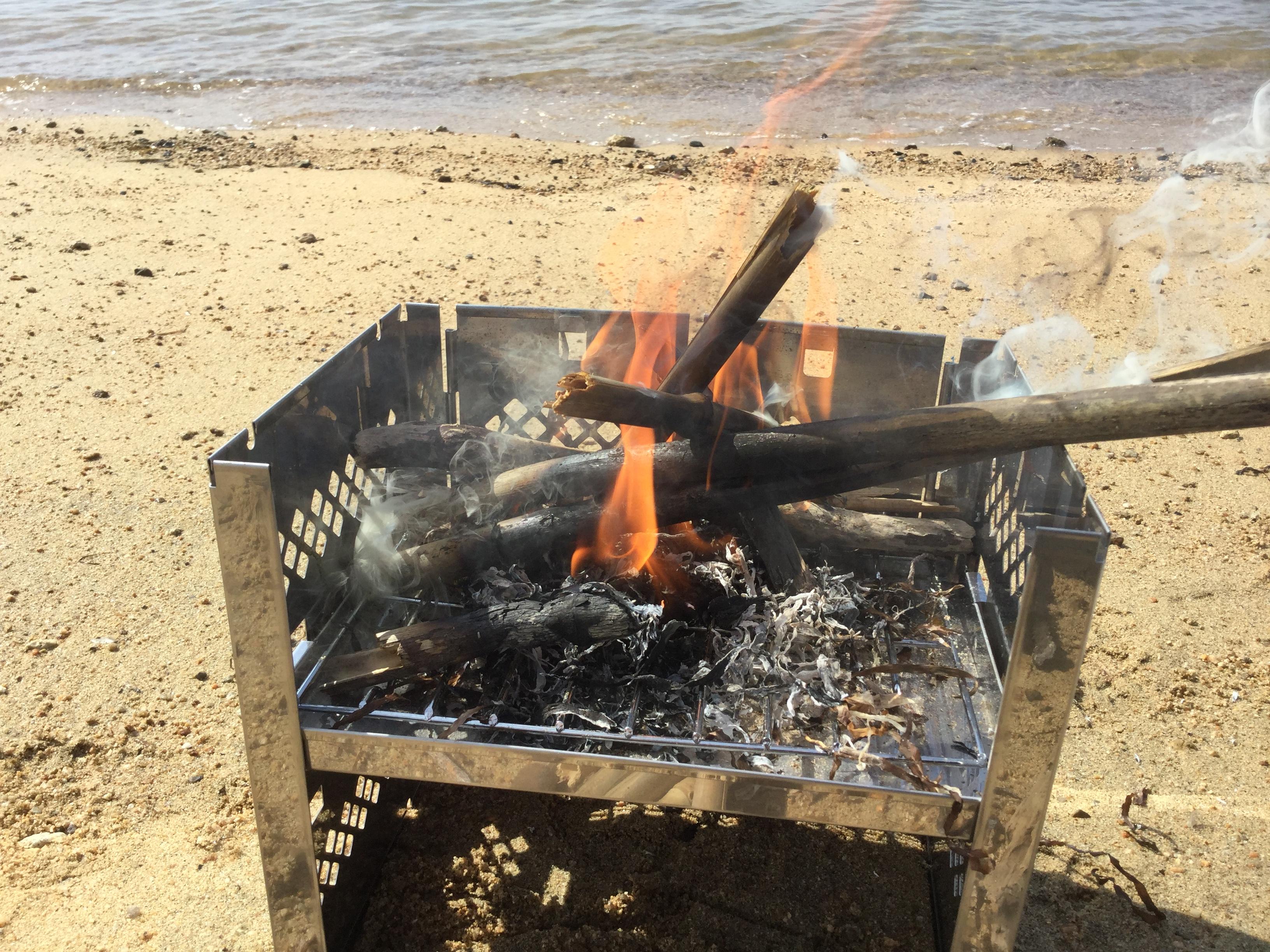カマド型焚火台の使い勝手とおススメポイントを詳しく紹介!