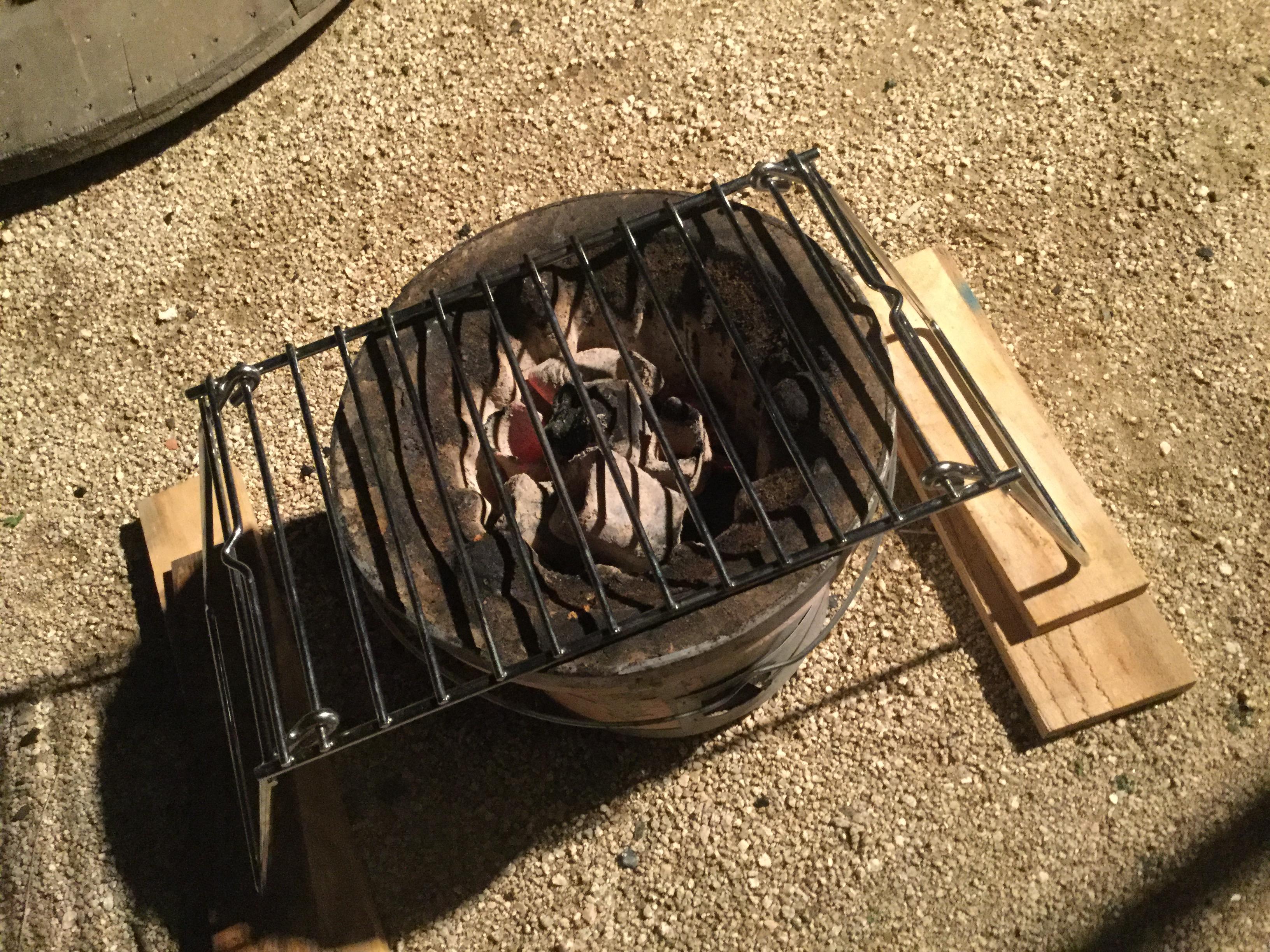 アイテム使用実験!キャプテンスタッグの網で綺麗なステーキを焼きたい!