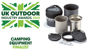 UK Outdoor Industry Awards 2019 - Camping Equipment Finalist