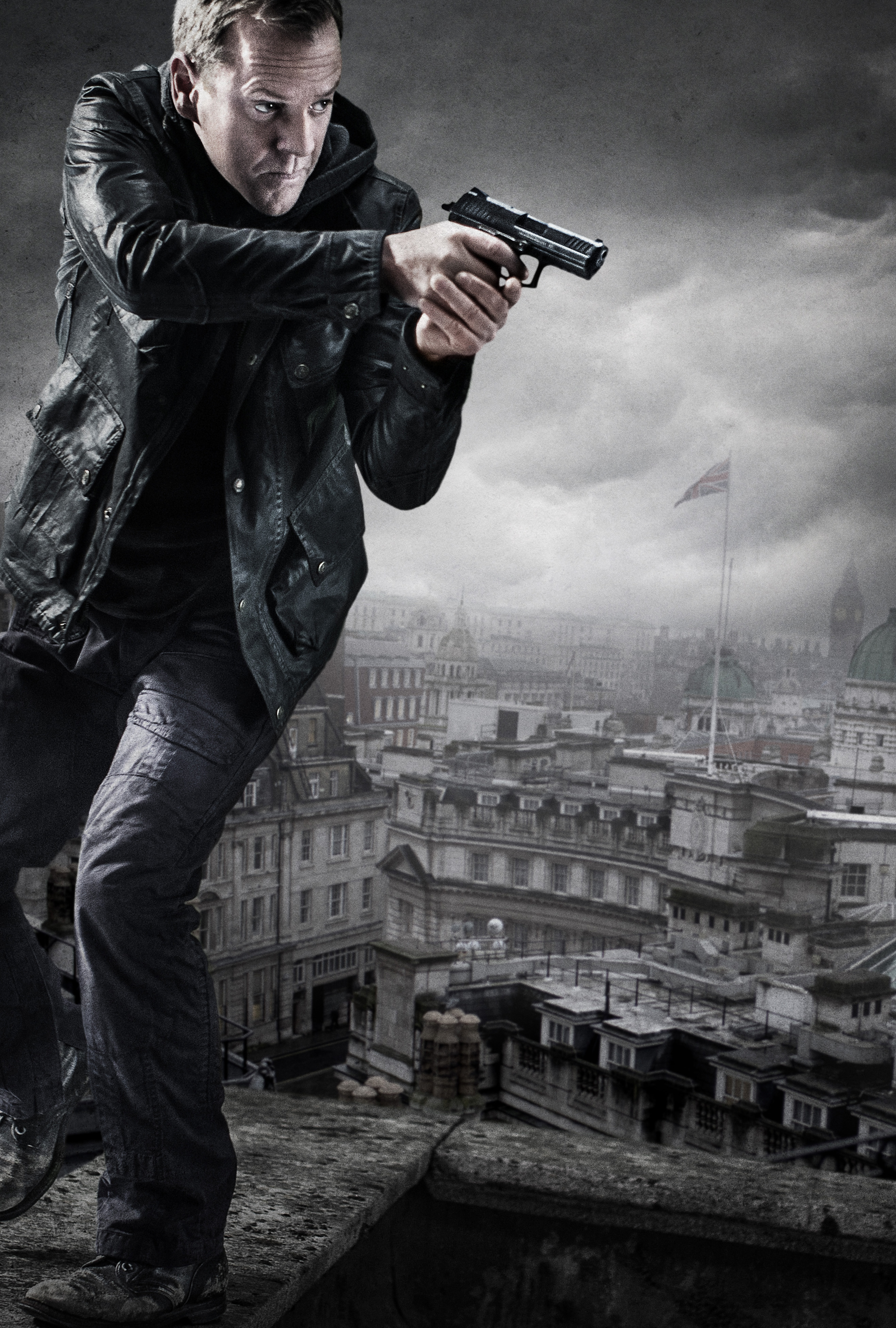 Fall Fox Wallpaper Kiefer Sutherland Jack Bauer 24 Live Another Day Key Art