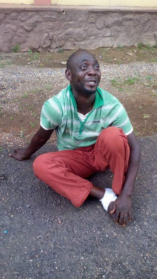 "(Photos)  Notorious ""Aye"" Cult leader, Oscar arrested in Ijebu-Ode,  Ogun State"