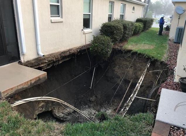 Sinkholes  Sottnet