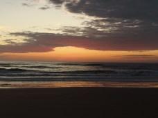 Alba a Cabo Polonio.