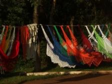 Foz de Iguaçú, amache in vendita lungo la strada