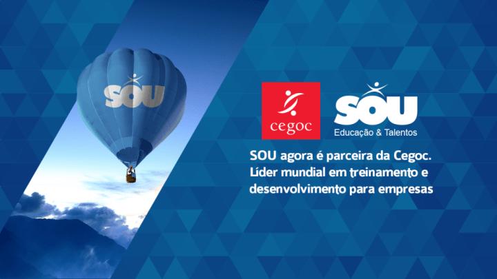 SOU é parceira da CEGOC para cursos prontos e soft skills