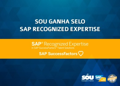 SOU ganha selo SAP Recognized Expertise para SAP SuccessFactors
