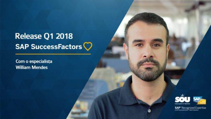 SAP SuccessFactors Release Q1 2018 Highlights