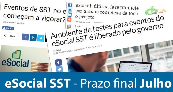 eSocial SST – Como comunicar dados de treinamento?