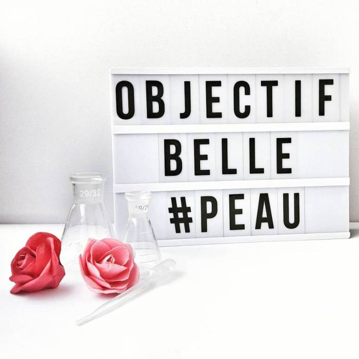 Objectif BELLE PEAU ... Sou and You !