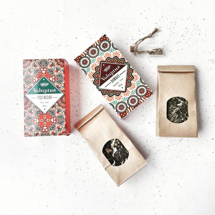 Nouvelle gamme de thés bio VOLUPTHE - Jeu Concours Instagram !
