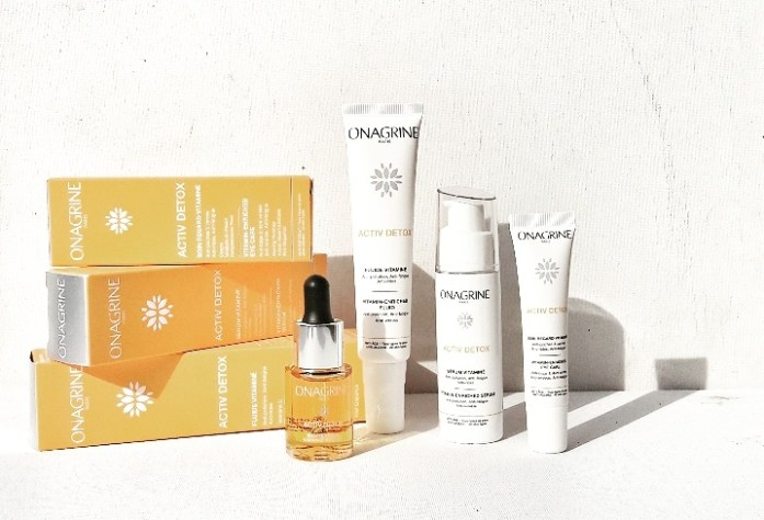 Onagrine Active Detox ... La Nouvelle Gamme Ultra Vitamines Anti-Pollutions