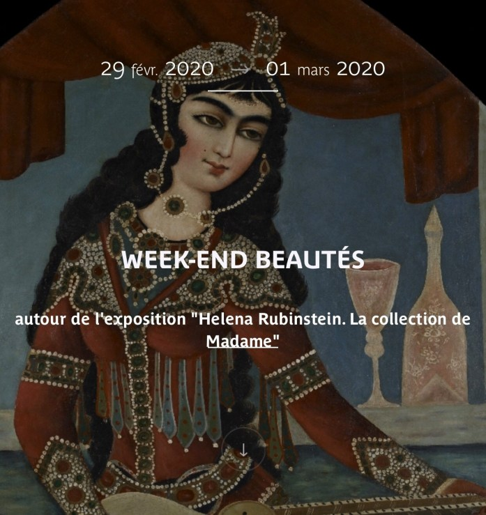 Week End Beautés - Helena Rubinstein