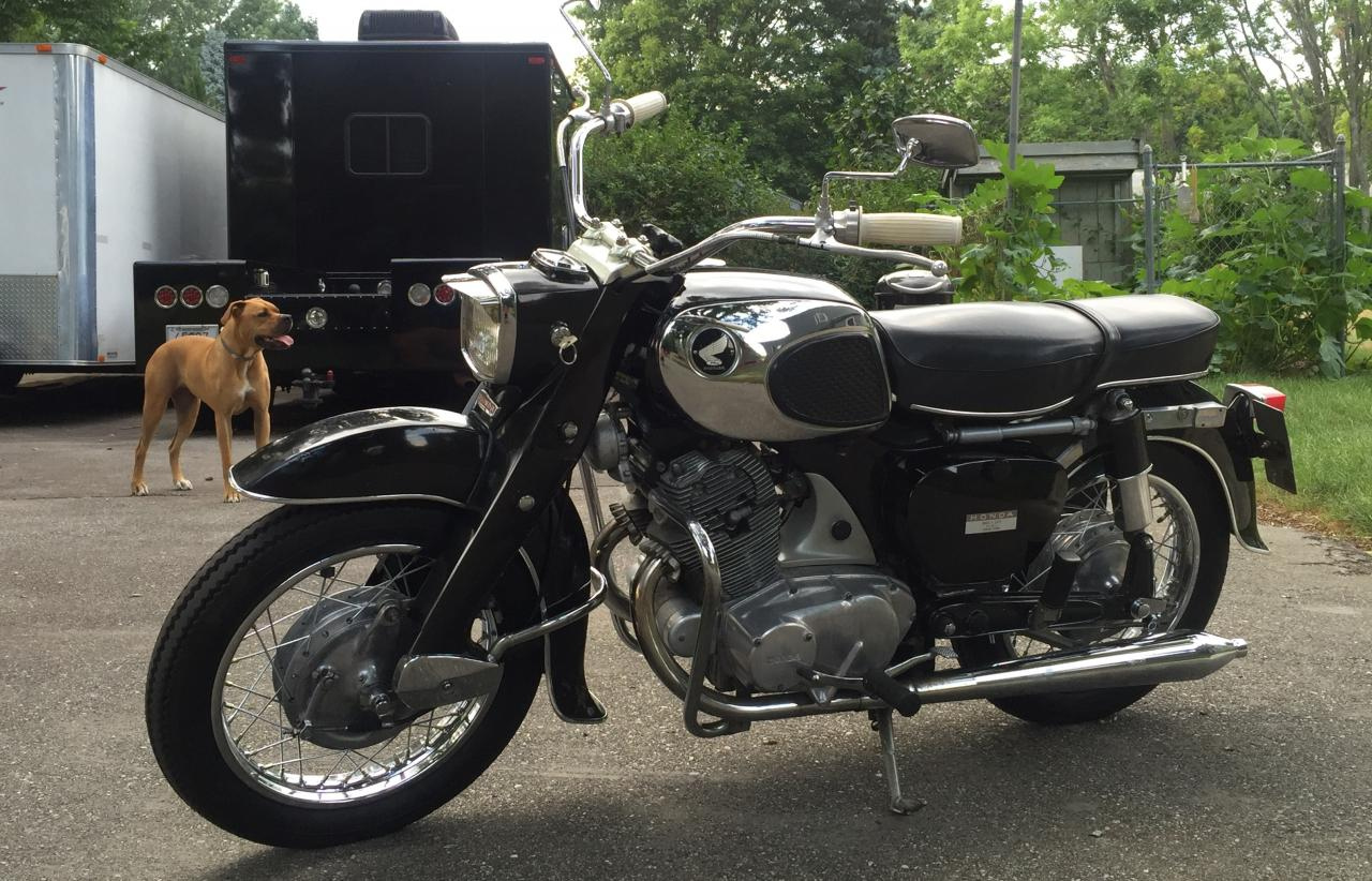 hight resolution of 1965 honda ca77 dream touring 305