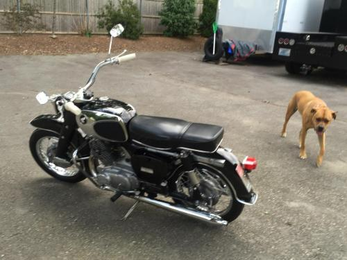small resolution of 1965 honda ca77 dream touring 305