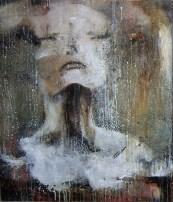 """woman"" 80 x 70 cm. oil on canvas"