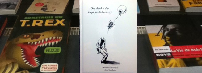 livre de Michel Soucy in store in Brussels