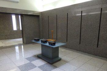 藤沢聖苑 告別室