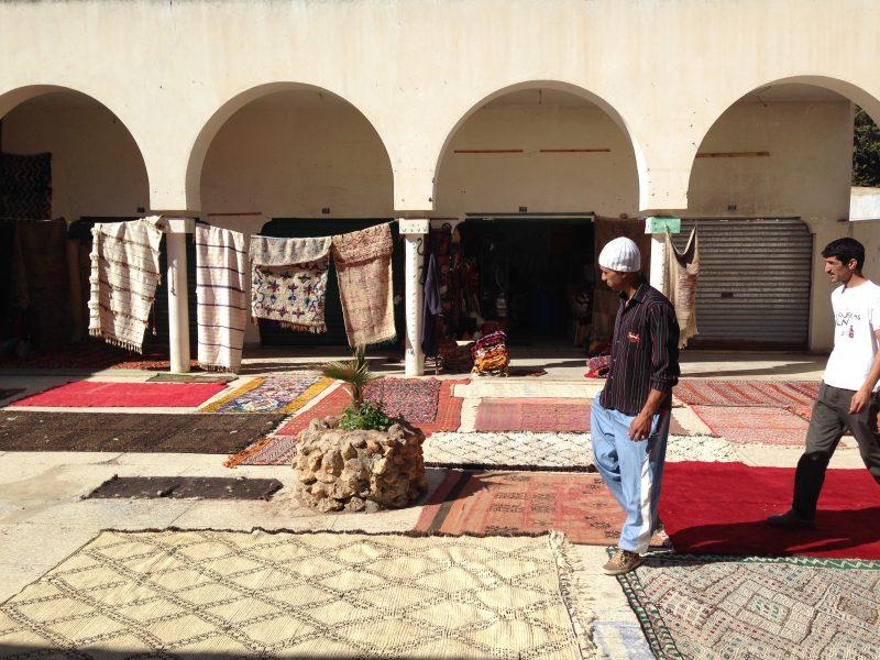 Teppichmarkt im Norden Marokkos