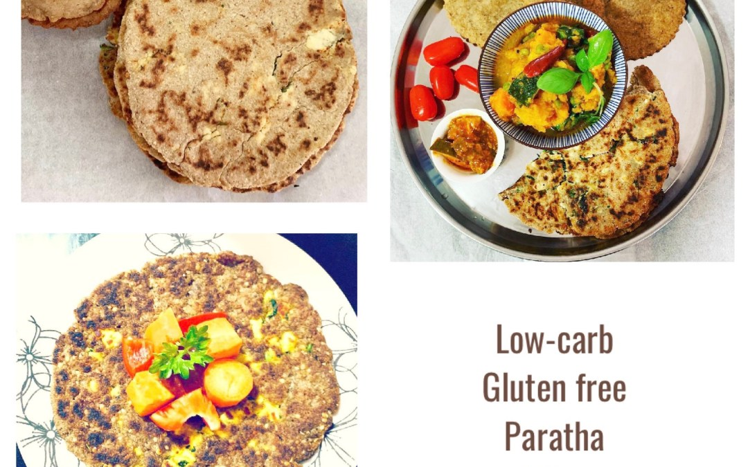 Low-carb Coconut Gluten Free Paneer Paratha