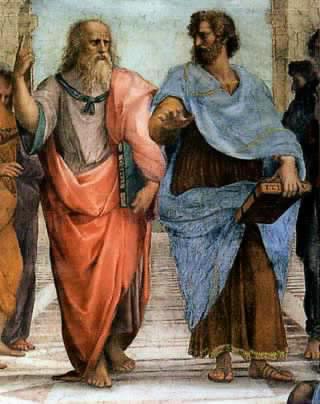 Aristote et Platon puis vous
